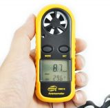 Переносной цифровой анемометр+термометр