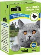 BOZITA with Duck - Кусочки в соусе с мясом утки (190 г)