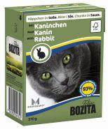 BOZITA with Rabbit - Кусочки в соусе с кроликом (370 г)