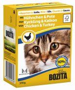 BOZITA with Chicken&Turkey - Кусочки в соусе с курицей и индейкой (370 г)