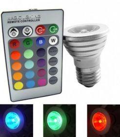 Лампа многоцветная с пультом ДУ