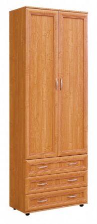 №100. Шкаф для одежды.  2180x800x560мм ВxШxГ
