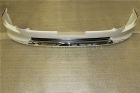 Аэродинамическая накладка на передний бампер Тип 2 с ходовыми огнями (губа) для Toyota Land Cruiser 200 2012