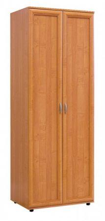 №102. Шкаф для одежды со штангой  2180x800x560мм ВxШxГ