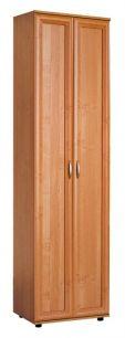 №128. Узкий шкаф для одежды  2180x600x390мм ВxШxГ