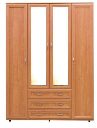 №148. Четырёхстворчатый шкаф   2180x1600x560мм ВxШxГ