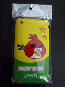 Накладка Apple iPhone 3G/3GS Angry Birds №3