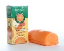 Мыло-скраб с апельсиновыми корками (Bio Orange Peel, BIOTIQUE), 150г