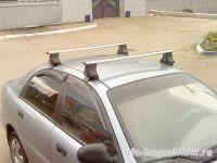 Багажник на крышу ZAZ Sens / ZAZ Chance, Атлант, аэродинамические дуги