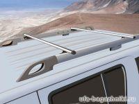 Багажник на крышу Nissan Pathfinder, прямоугольные дуги на рейлингиБагажник на крышу Nissan Pathfinder, аэродинамические дуги на рейлинги