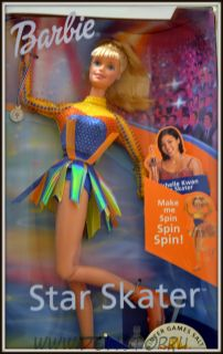 Коллекционная кукла Барби Фигуристка, Олимпиада 2002,  - Star Skater Barbie doll