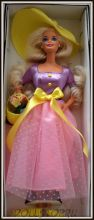 Коллекционная кукла Барби Весеннее Цветение - Spring Blossom Barbie Doll, Avon Exclusive
