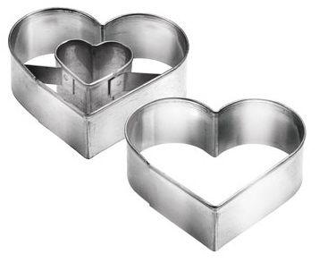 Формочки для печенья с начинкой, сердце DELICIA Tescoma 631190