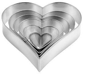 Формочки - сердца DELICIA Tescoma 6 шт 631362