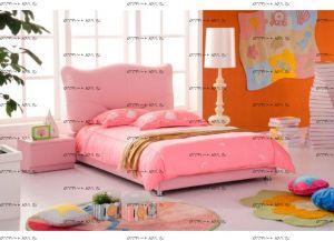 Кровать кожаная AE005 Татами