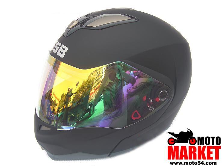 Мото шлем GSB. Модуляр (+ встроенный второй визор)