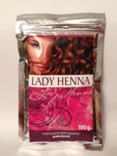 Травяной порошок для волос Шикакай, Lady Henna, 100 г