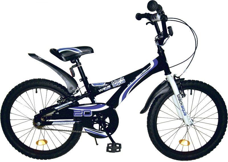 """BLACK AQUA WAVE 20"""" детский велосипед"""