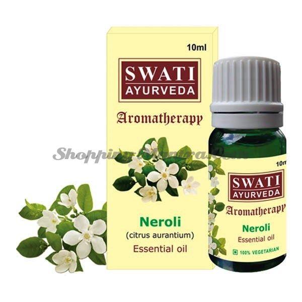 Натуральное эфирное масло Нероли Свати Аюрведа / Swati Ayurveda Neroli Essential Oil