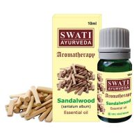 Натуральное эфирное масло Сандал Свати Аюрведа (Swati Ayurveda Sandal Essential Oil)