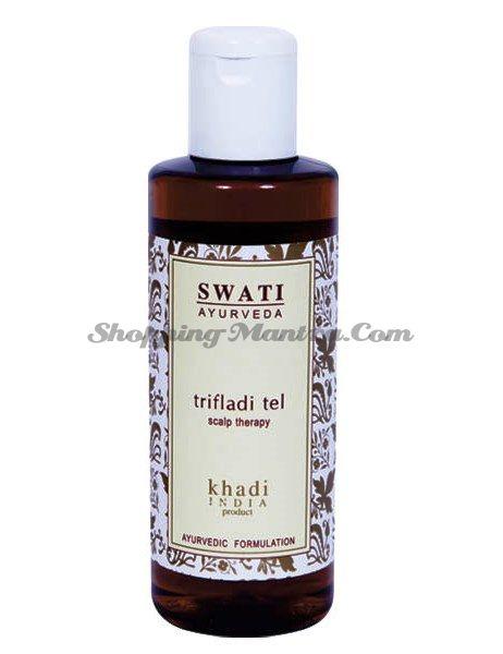 Аюрведическое масло для лечения кожи головы Трифлади Свати / Swati Ayurveda Trifladi Hair Oil