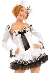 Ролевой  костюм морячки