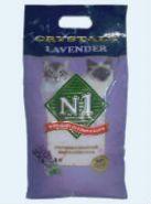 № 1 Crystals Lavender Впитывающий силикагелевый наполнитель с ароматом лаванды (5 л)