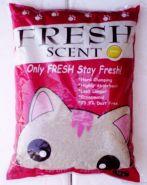 """Fresh Scent """"Лимон"""" Комкующийся наполнитель (5 л)"""