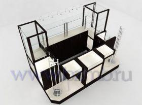 Островная торговая мебель