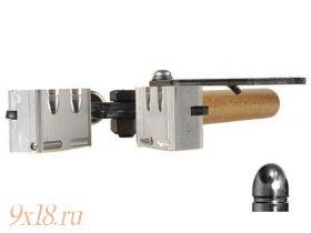 """Пулелейка ручная Lee (США) калибр 9,02 мм - .356"""", два гнезда, вес пули 102 гран (6,61 грамма), оживальная головная часть"""