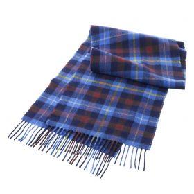шарф 100% шерсть ягнёнка , официальный личный тартан  Гленко для Лордов и Леди