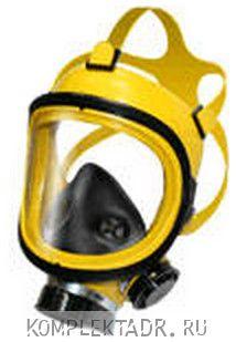 Полнолицевая маска с фильтром (Россия)