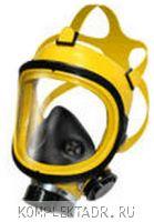 Полнолицевая маска желтая