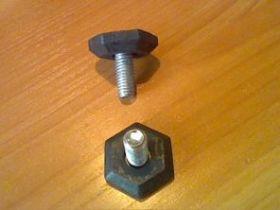 Ножка для стиральных машин D10mm, длиная