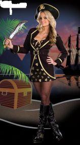 Черный костюм пирата