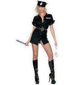 Костюм строгой полицейской