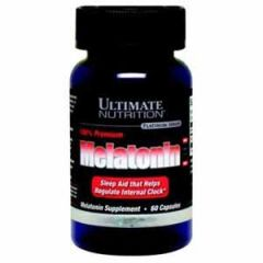 Ultimate Nutrition - 100% Premium Melatonin 3 mg