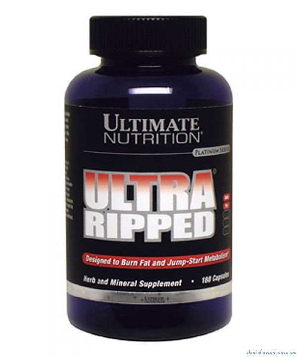 Ultimate - Ultra ripped Caps (180 капс)