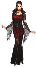 Полупозрачное платье  вампирши