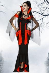 Длинное платье королевы вампиров