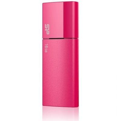 16GB USB-флэш накопитель Silicon Power U05 мет красный выдвижной