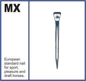 """Ковочные гвозди """"MUSTAD"""" Размеры: MX50-MX55-MX60 (ультратонкие)"""