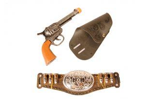 Набор ковбоя револьвер с кобурой