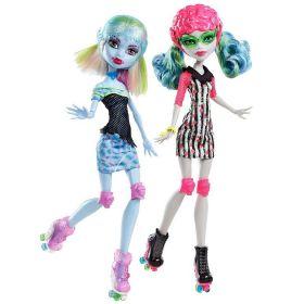Игровой набор Эбби Боминейбл (Abbey Bominable) и Гулия Йелпс (Ghoulia Yelps), серия Спорт, MONSTER HIGH