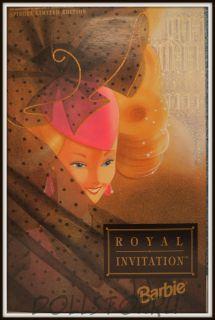 Коллекционная кукла Барби Шпигель Королевское Приглашение - Shpiegel Royal Invitation Barbie Doll