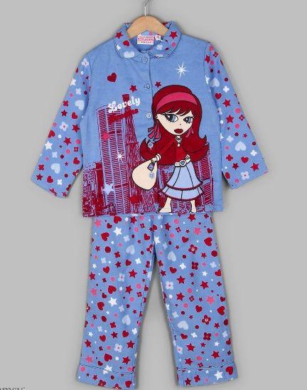 Фланелевая пижама для девочки 2 лет, Бельгия