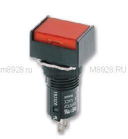 Кнопка А16 красная