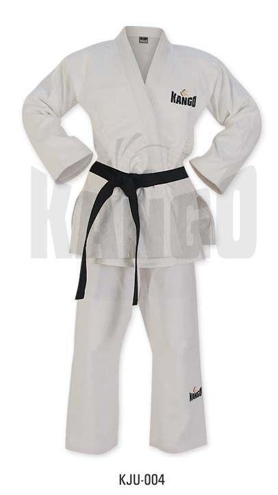 Униформа Дзюдо , 200 гр., белая, артикул 6009, размер 3/160, KANGO