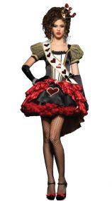 Карнавальный костюм королевы червей