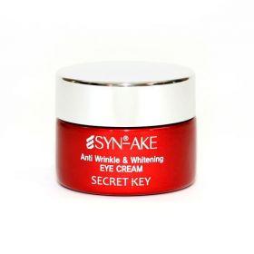 SECRET KEY SYN-AKE ANTI WRINKLE EYE CREAM 15ml - омолаживающий крем для глаз со змеиным ядом